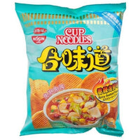 Nissin Potato Chips - Spicy Seafood Flavour