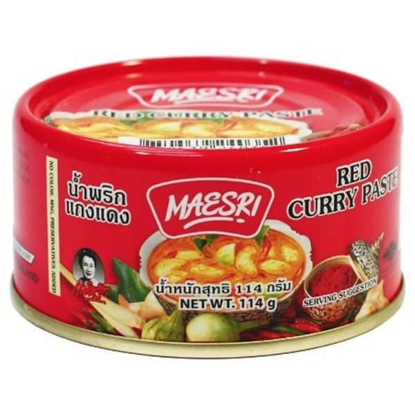 Red Curry Paste - Maesri Brand (114g)