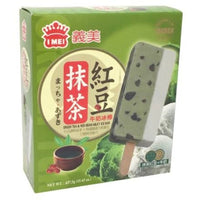 Green Tea & Red Bean Ice Cream - I Mei