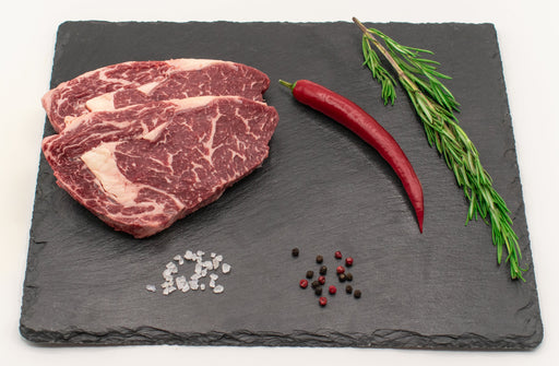 Rinder Rib Eye Steak, 450 g Packung