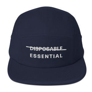 Essential not Disposable - 5 Panel Camper Hat