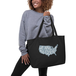 We Are All Essential USA - Large Eco Tote Bag