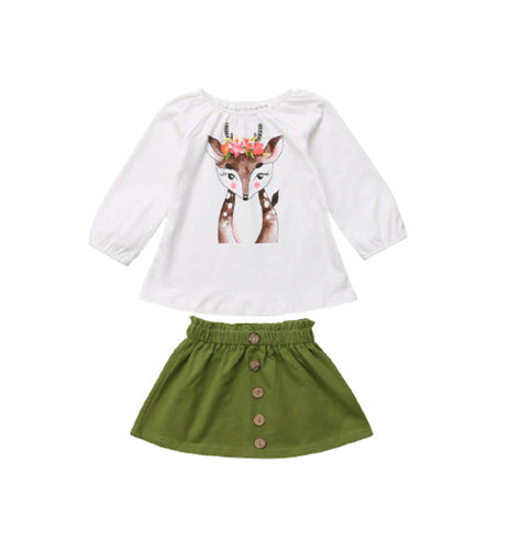 Bambi World - Set Maglia + Gonna (1 Variante)