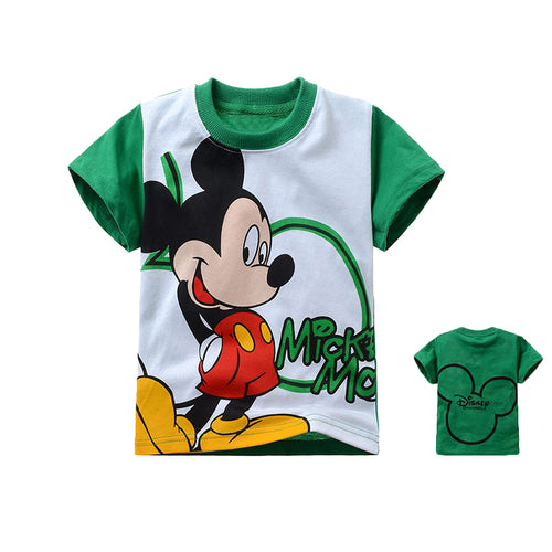 Micky Mouse Green - Tshirt