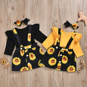 Sunflower - Set - 3 Pezzi (Body+Gonna+Fascia)