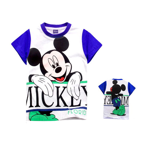 Micky Mouse Purple - Tshirt