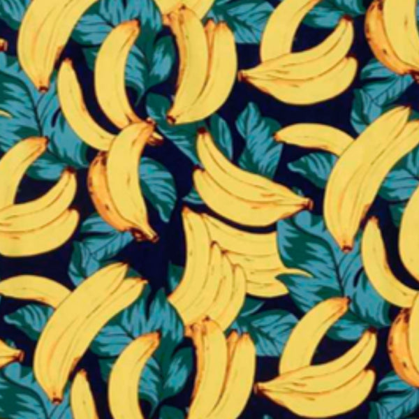 Bananas fabric lampshade