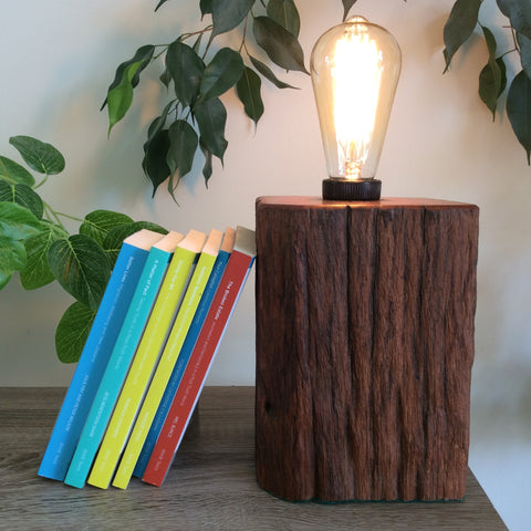 Edison Lamp - Book End #3