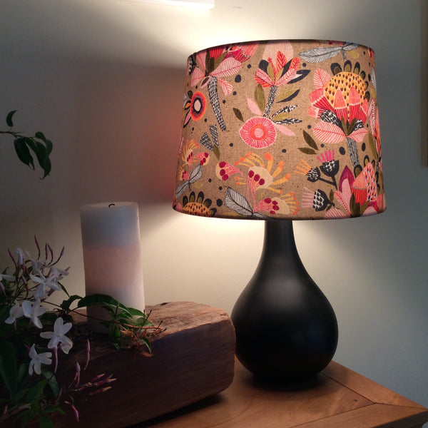Protea pop lampshade