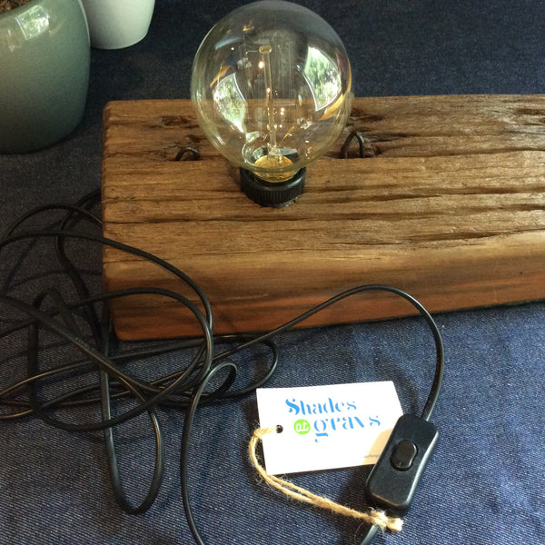 Edison Lamp - Totara Post #2