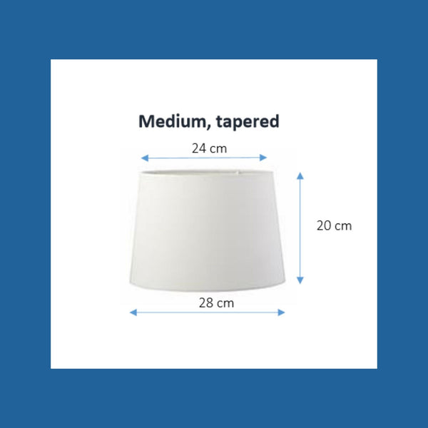 Hexagon print lampshade