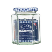 Load image into Gallery viewer, Kilner Hexagonal Twist Top Jar - 280ml