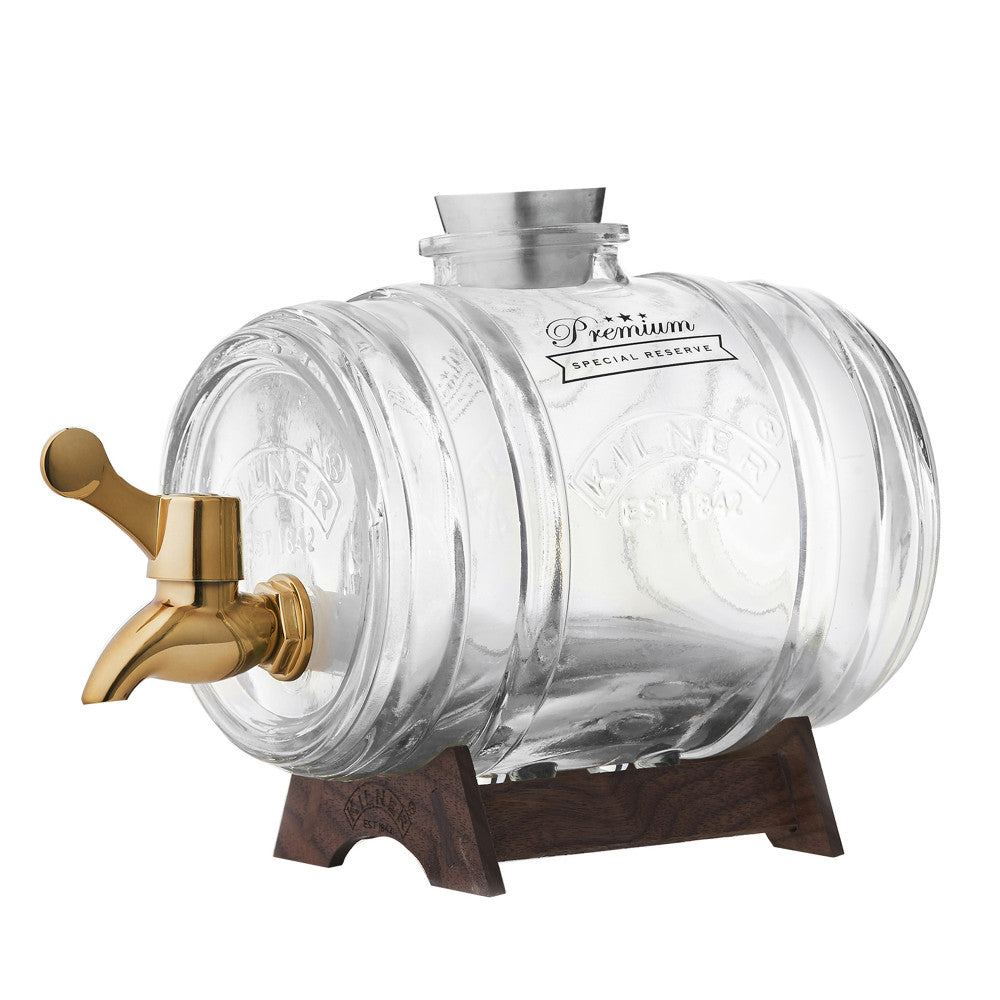 Kilner Barrel Dispenser with Brass Tap