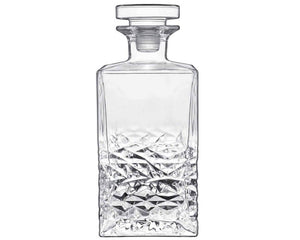 Mixology Textures Glass Decanter