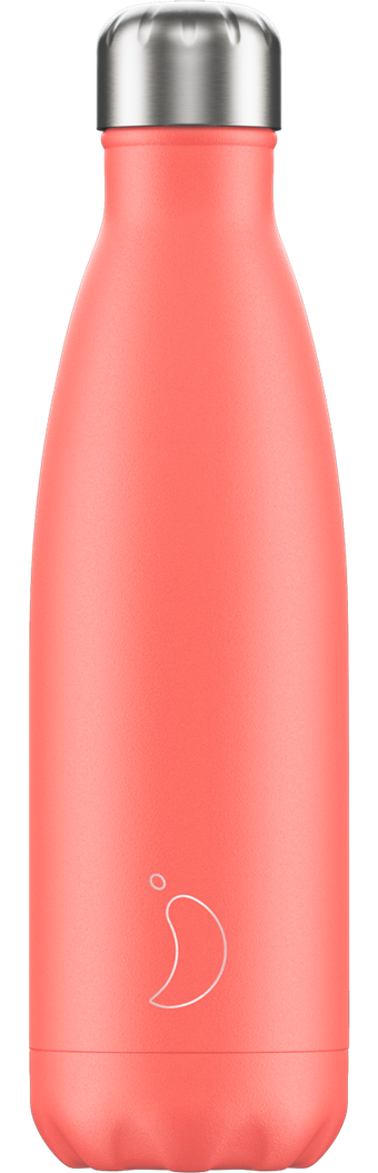 Chilly's 500ml Bottle - Pastel Coral