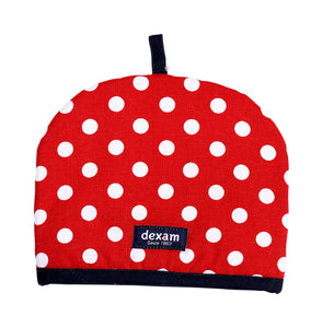 Dexam Polka 2 Cup Tea Cosy - Red