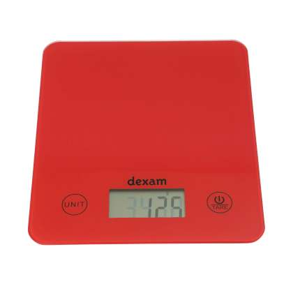 Dexam Digital Scales - Red