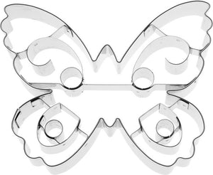 Cookie Cutter Butterfly, 10cm Stainless Steel