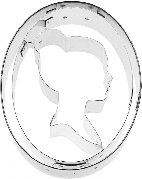 Cookie Cutter Silhouette, 8.5cm Stainless Steel