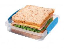 Load image into Gallery viewer, Sistema Sandwich Box - Clear/Purple Clips