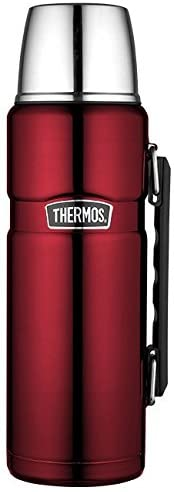 Thermos King 1.2L Insulated Flask - Cranberry