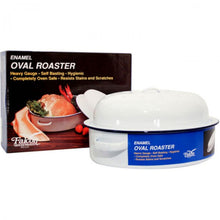 Load image into Gallery viewer, Falcon Oval Enamel Roaster - 36cm