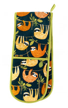 Load image into Gallery viewer, Ulster Weavers Double Oven Glove - Hanging Around