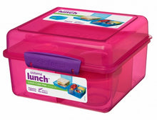 Load image into Gallery viewer, Sistema Lunch Cube Max - Pink