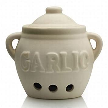 Kilo Ceramic Garlic Pot