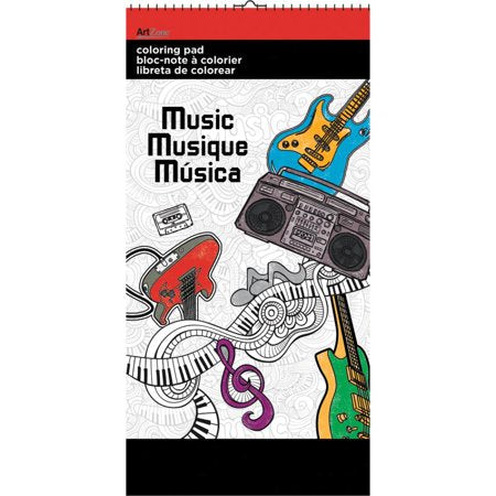Music Colouring Pad