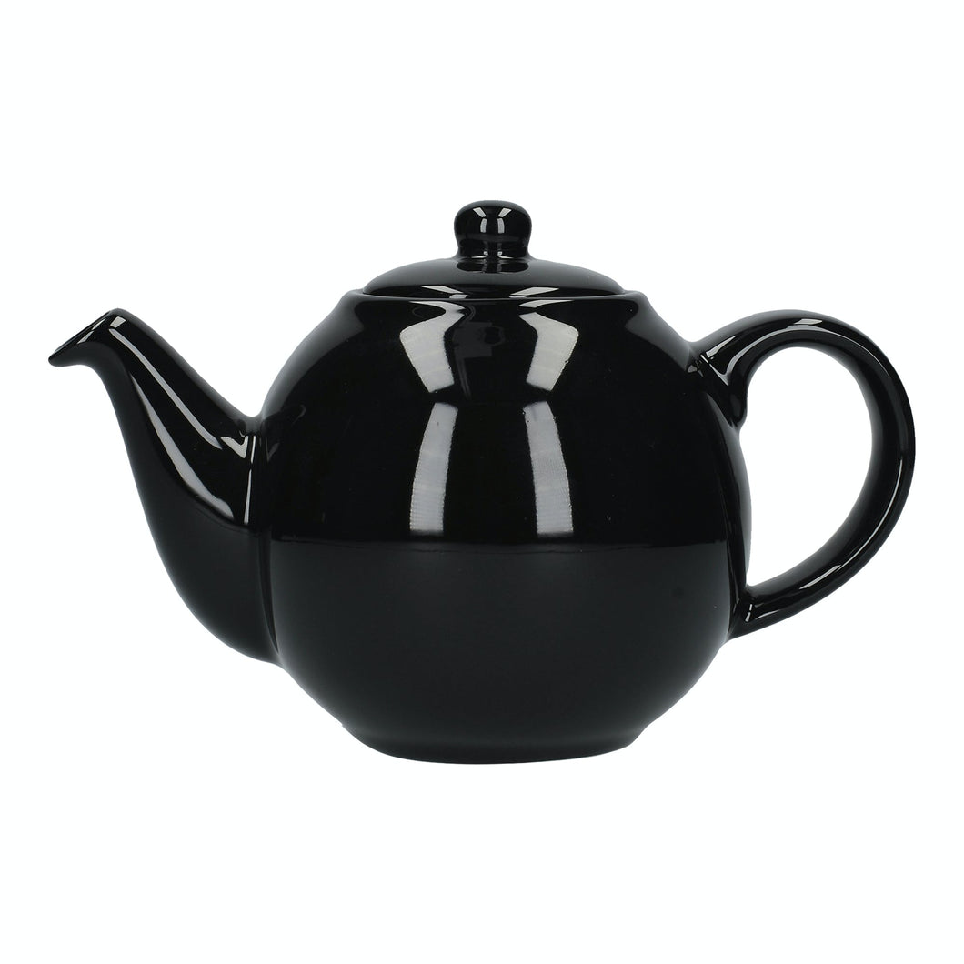 London Pottery 10 Cup Globe Teapot - Black
