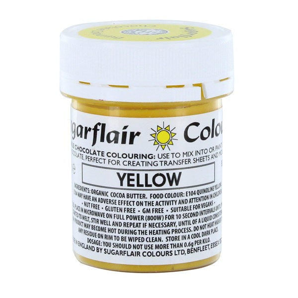 Sugarflair Chocolate Colouring - Yellow