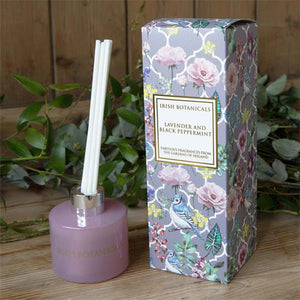 Irish Botanicals Diffuser - Lavender & Black Peppermint