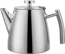 Load image into Gallery viewer, Grunwerg Belmont Double Wall Teapot - 1.2L (Mirror Finish)