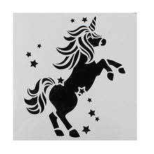 Load image into Gallery viewer, Cake Star Unicorn Stencil