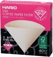 Load image into Gallery viewer, Hario V60 Coffee Paper Filter - No.1