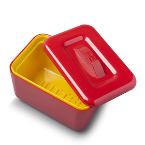 Zeal Insulated Butter Dish - Red