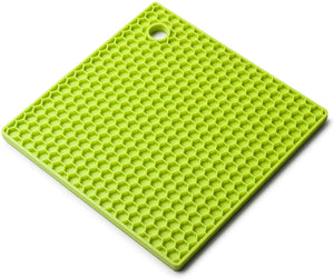 Zeal Silicone Honey Comb Trivet - Lime