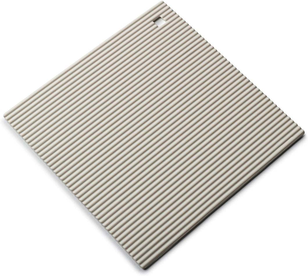 Zeal Small Silicone Square Hot Mat - Cream