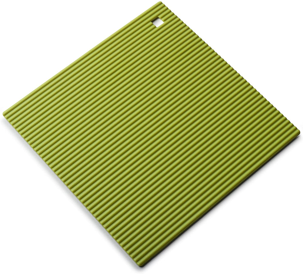 Zeal Large Silicone Square Trivet - Lime
