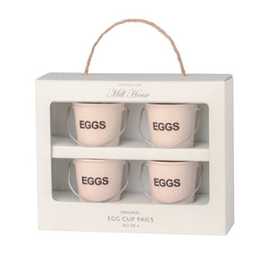 Eddingtons Egg Cup Pails - Cream