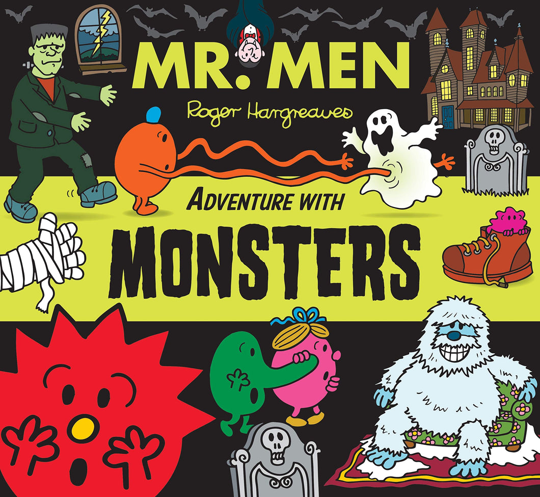 Mr Men Monster Book