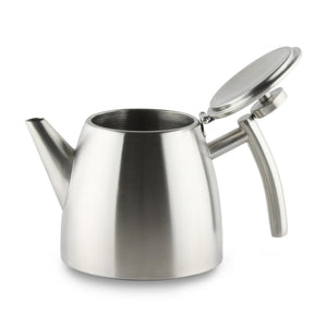 Grunwerg Belmont Double Wall Teapot - 1.2L (Mirror Finish)