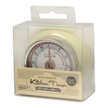 Load image into Gallery viewer, Eddingtons Retro Magnetic Timer - Ivory