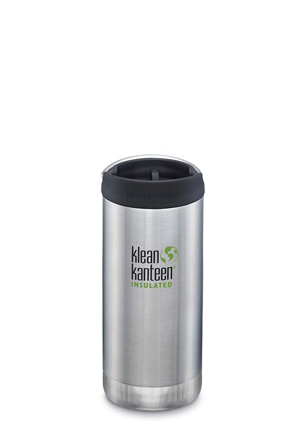 Klean Kanteen 12oz Insulated TK Wide - Brushed Stainless