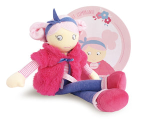 Pink Graine soft toy