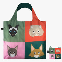 Load image into Gallery viewer, LOQI Stephen Cheetham 'Cats' Bag