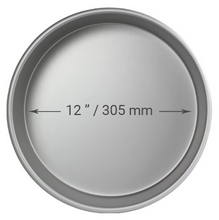 "Load image into Gallery viewer, PME Round Cake Pan - 12"" x 4"""