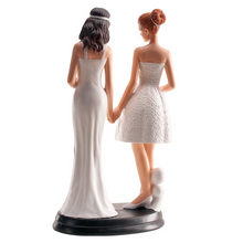 Load image into Gallery viewer, Dekora Wedding Cake Topper - Female Couple