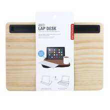 Load image into Gallery viewer, Kikkerland IBed Lap Tray - Wood
